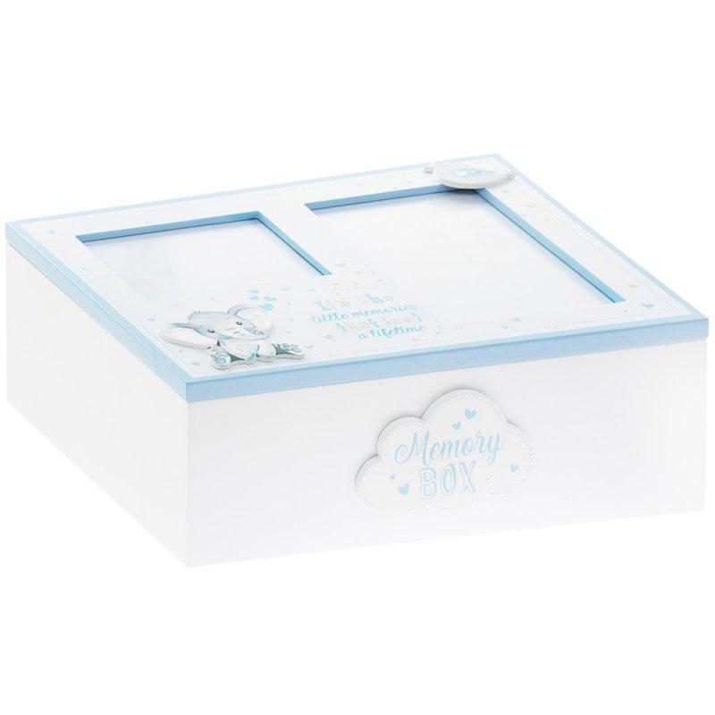 Ukrasna kutija plava BIRD & ELLIE KEEPSAKES