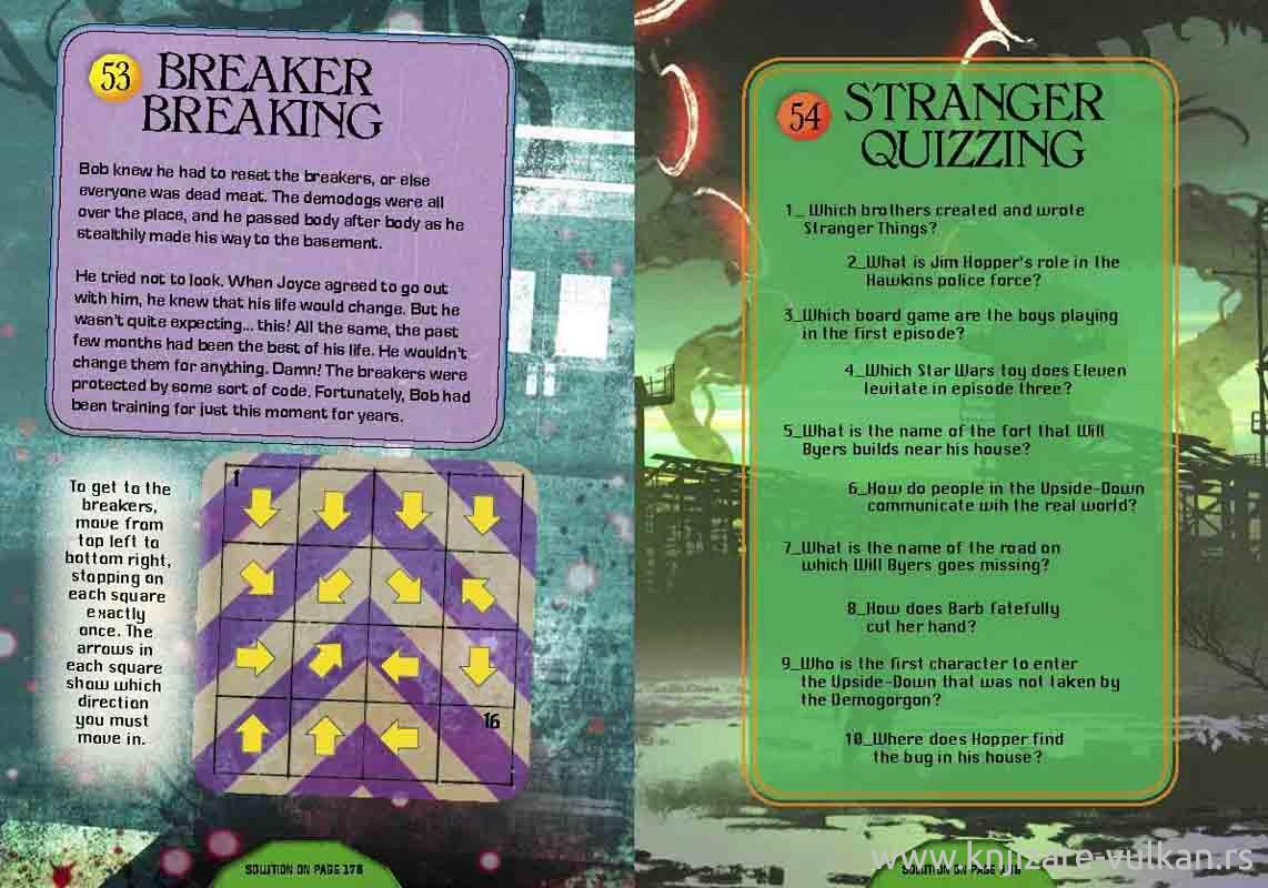 THE WORLD OF STRANGER THINGS PUZZLES FROM THE NETHER