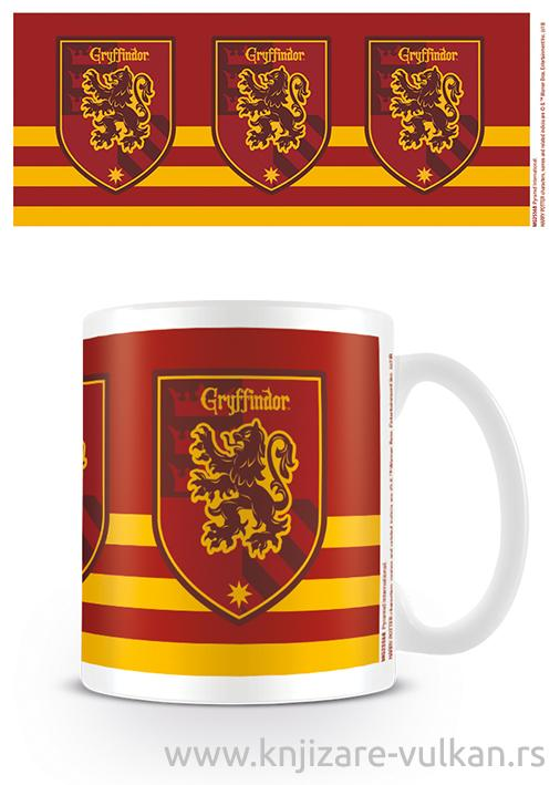 Šolja HARRY POTTER Gryffindor Stripe