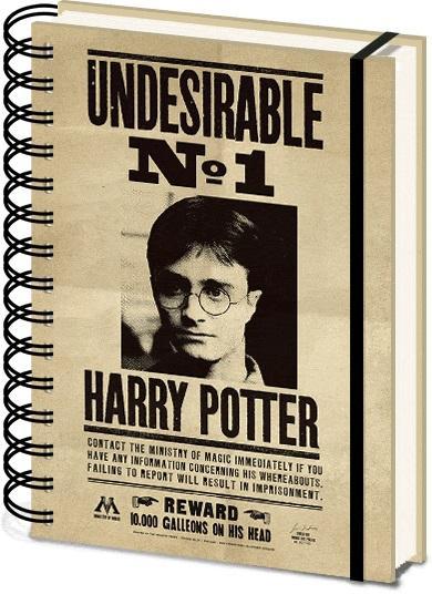 Notes sa spiralom A5 HARRY POTTER Sirius & Harry