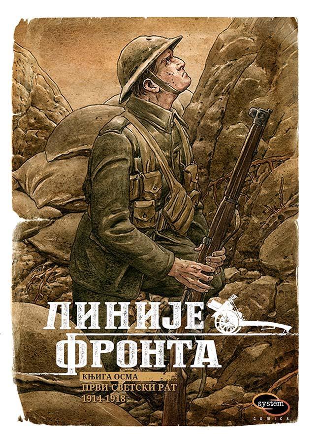 LINIJE FRONTA VIII Prvi svetski rat 1914 1918