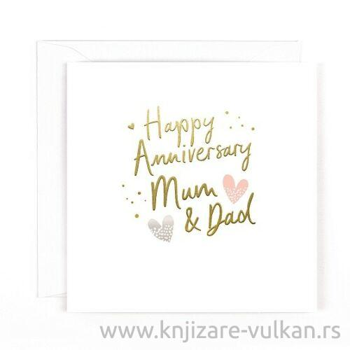 Čestitka za srećnu godišnjicu braka : ANNIVERSARY MUM AND DAD