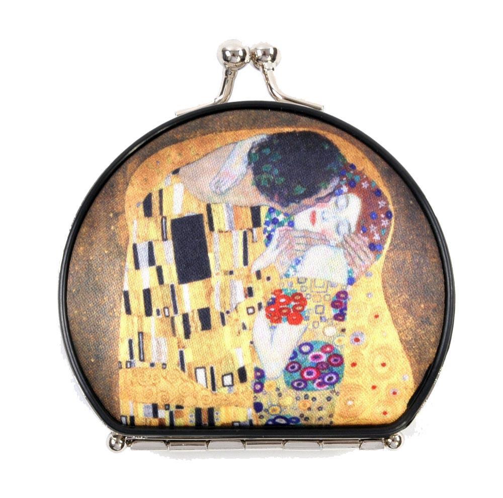 Luksuzno ogledalo od tekstila GUSTAV KLIMT THE KISS