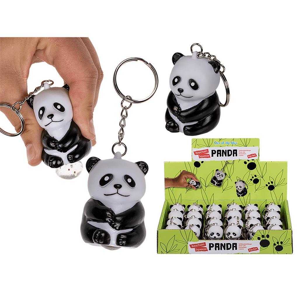 Privezak za Ključ METAL KEY CHAIN SQUEEZE PANDA