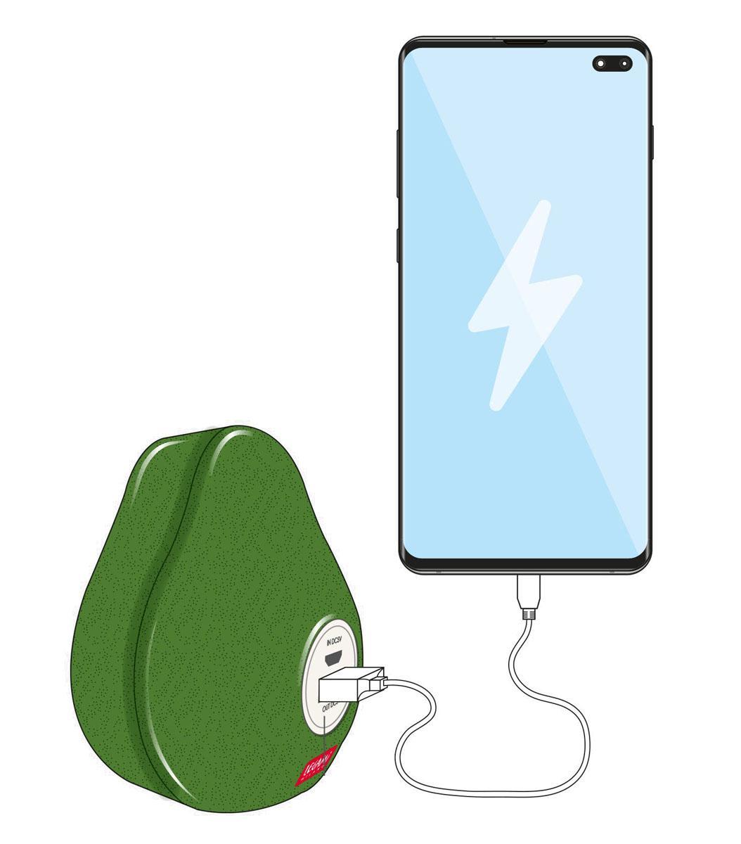 Power Bank eksterna baterija AVOCADO