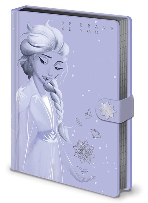 Notes Premium A5 FROZEN 2 Lilac Snow