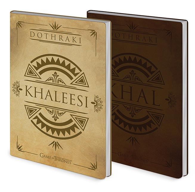Notes Premium A5 GAME OF THRONE Dothraki