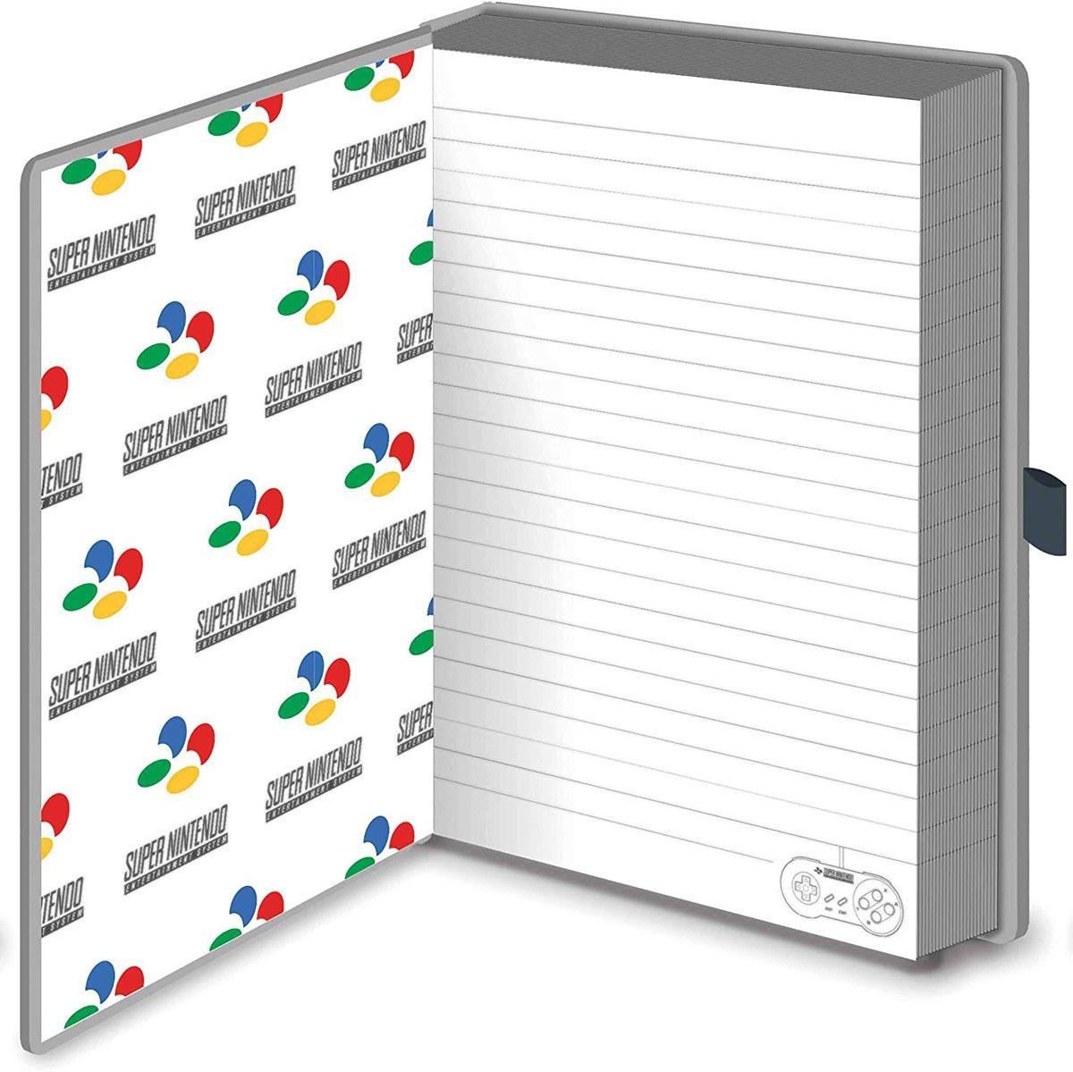 Notes Premium A5 NINTENDO Snes