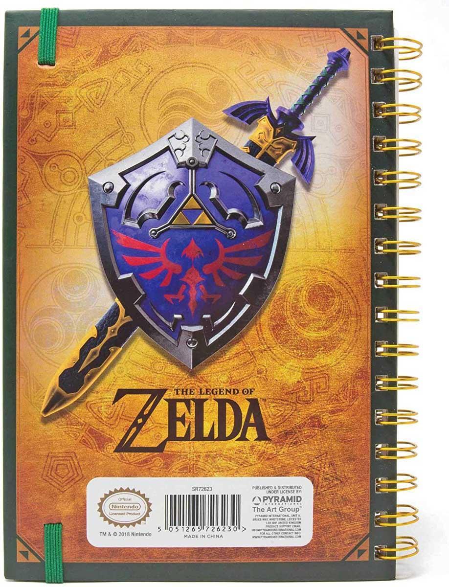 Notes A5 THE LEGEND OF ZELDA 3D