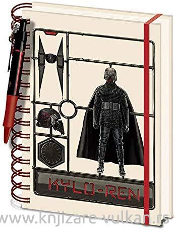 Notes A5 STAR WARS The Rise of Skywalker (Airfix Kylo)