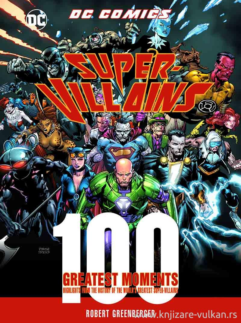 DC COMICS SUPER VILLAINS
