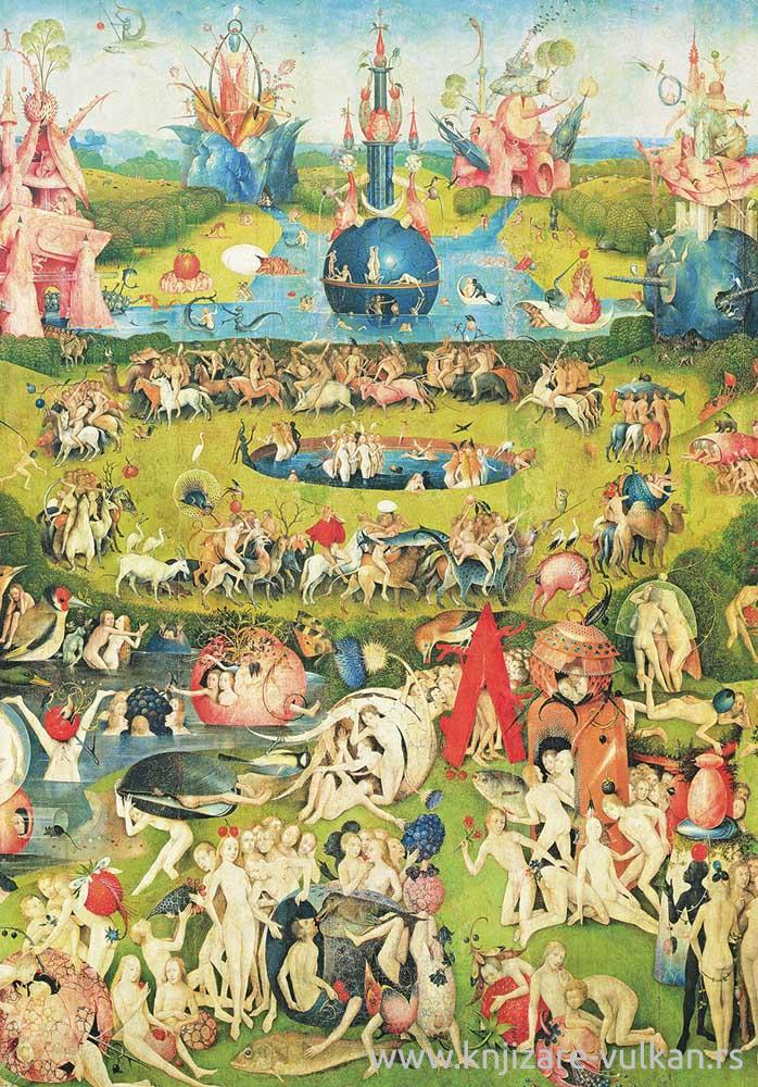 Puzzle BOSCH Garden of Earthly Delights (1000)