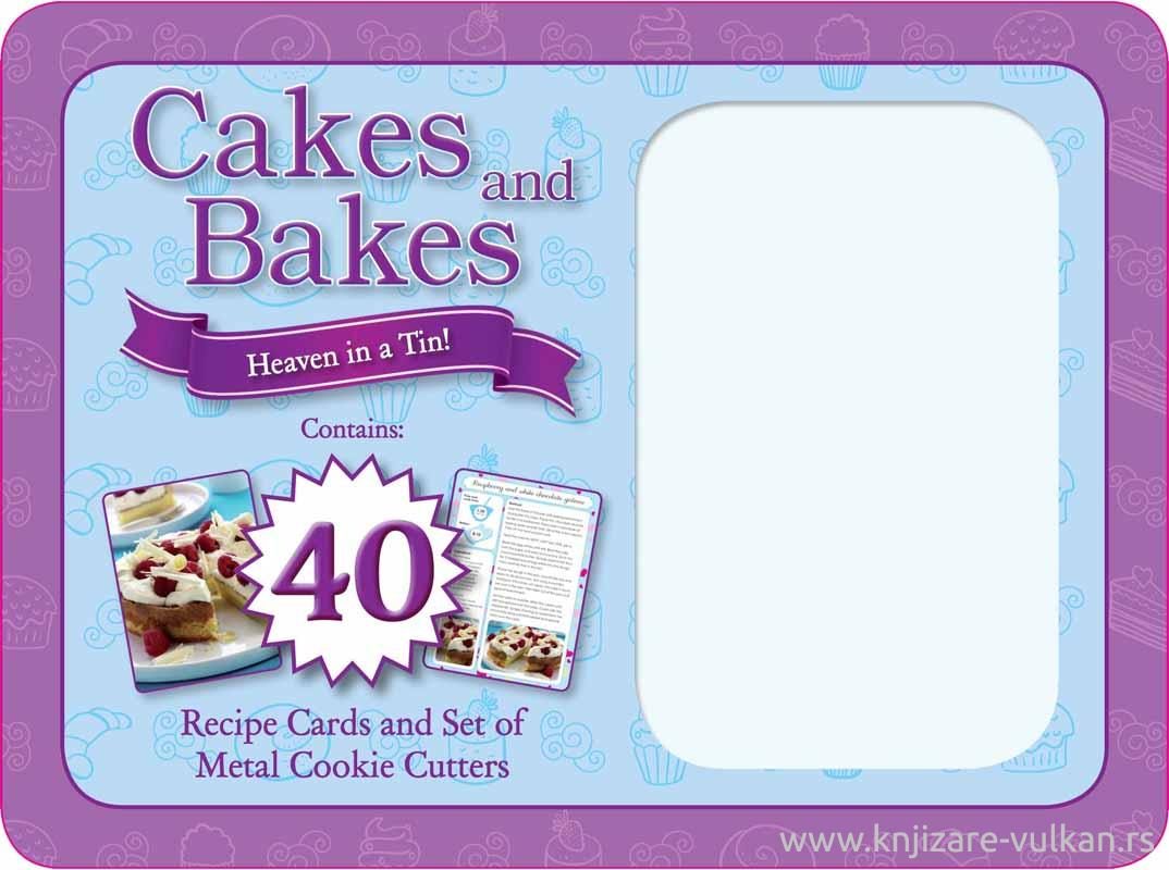 CAKES AND BAKES HEAVEN IN A TIN