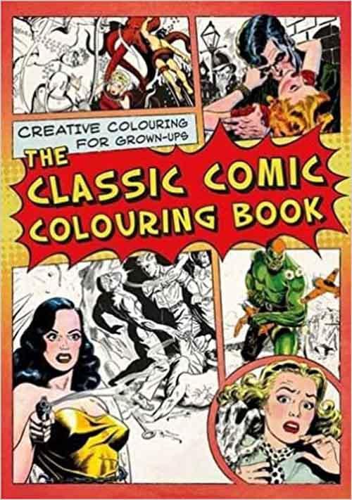 CLASSIC COMIC COLOURING BOOK