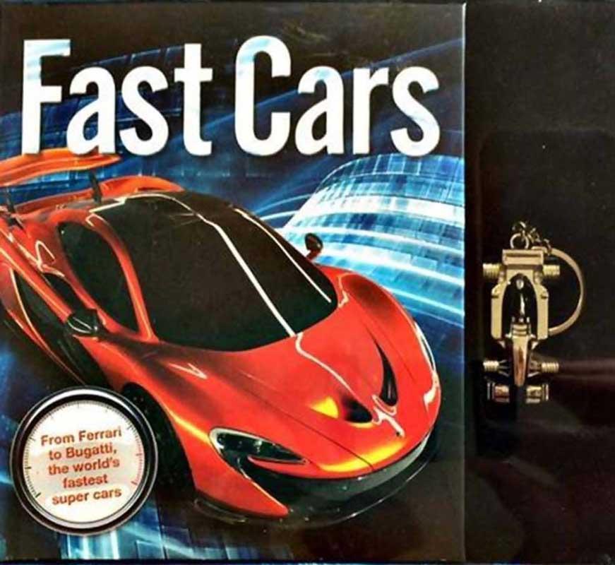 FAST CARS BOX TIN