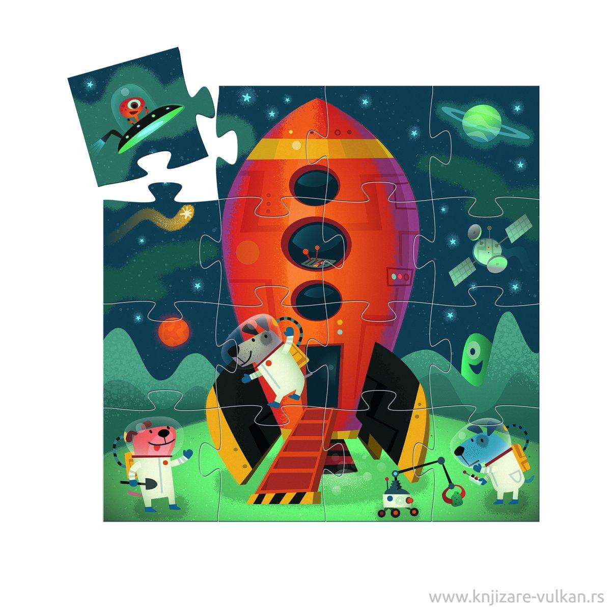 Puzzle SPACESHIP 16 PCS
