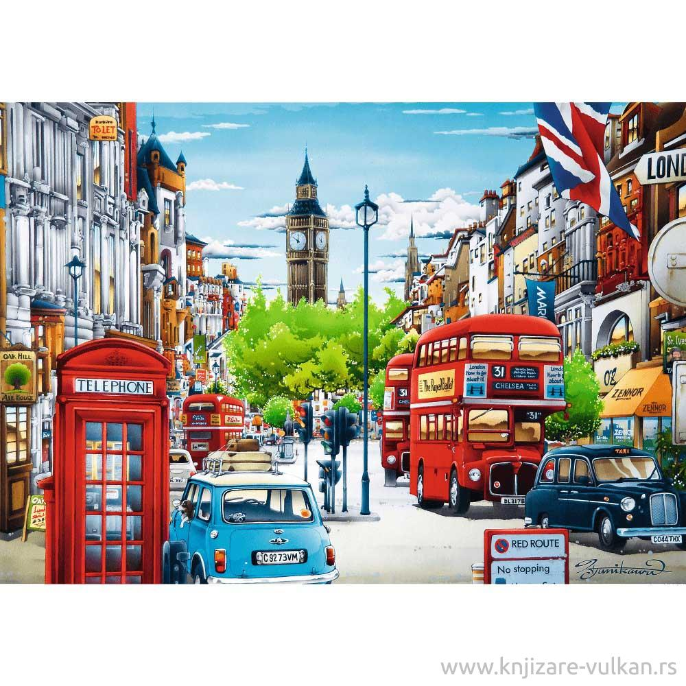 Puzzle TREFL London Street 1000