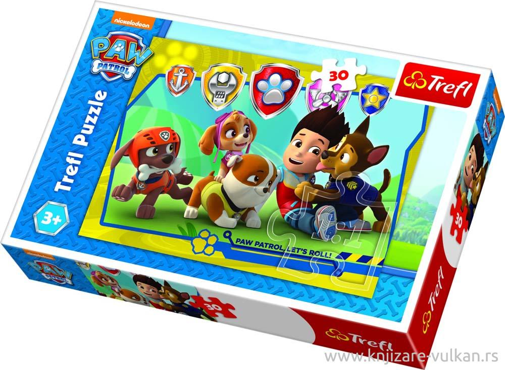 Puzzle TREFL PAW Patrol Ryder And Friends 30