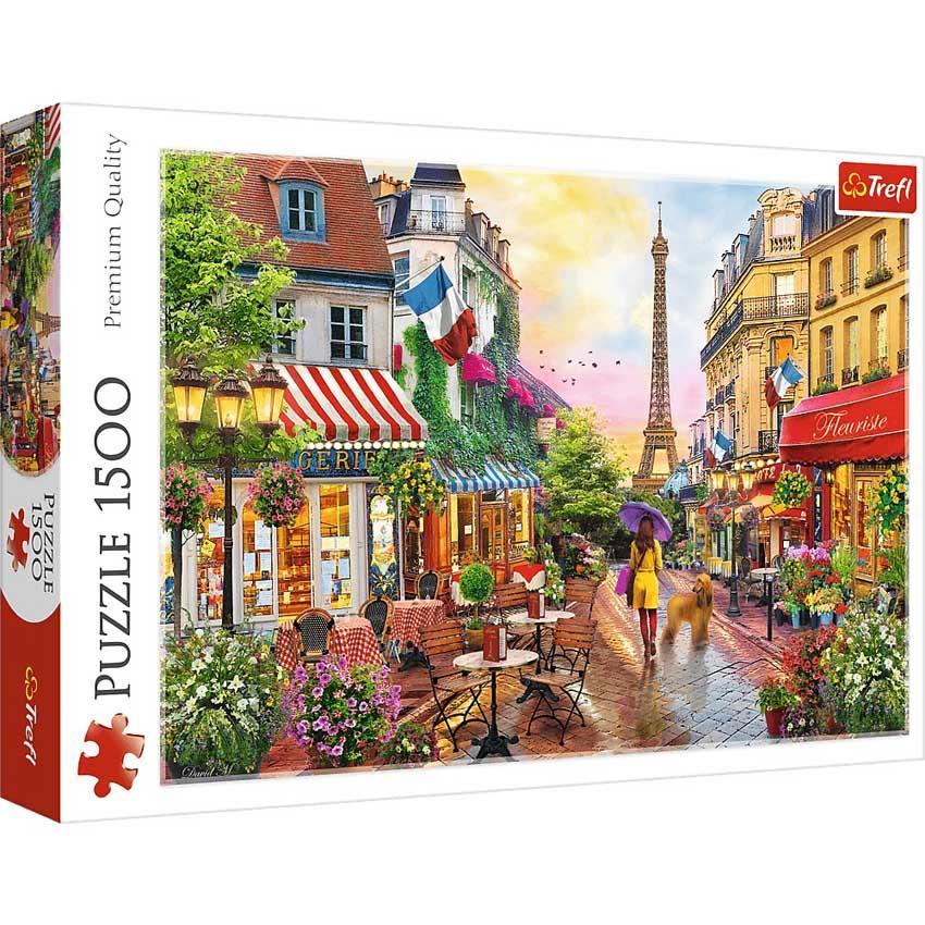 Puzzle TREFL Charmig Paris 1500