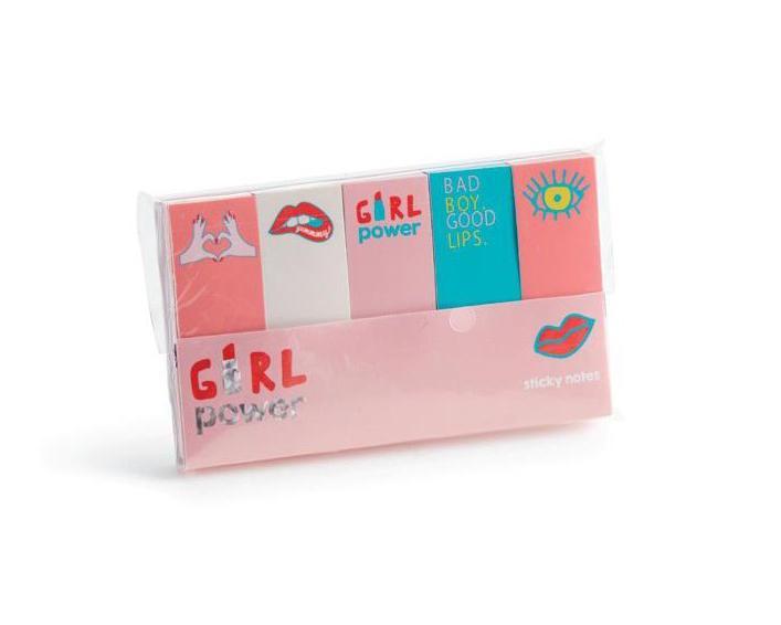 Stikeri PACK OF 5 MINI STICKERS GIRL POWER MR