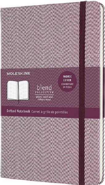 Notes A5 BLEND MOLESKINE ljubičasti- tačkice