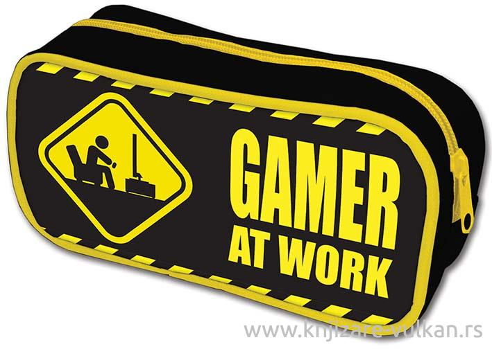 GAMER AT WORK PERNICA Caution Sign