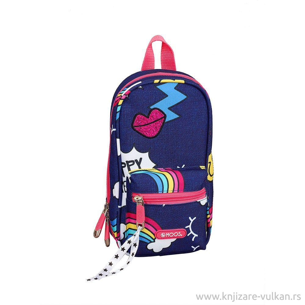 Torbica PENCIL CASE BACKPACK WITH 4 EMPTY CASES DREAMS