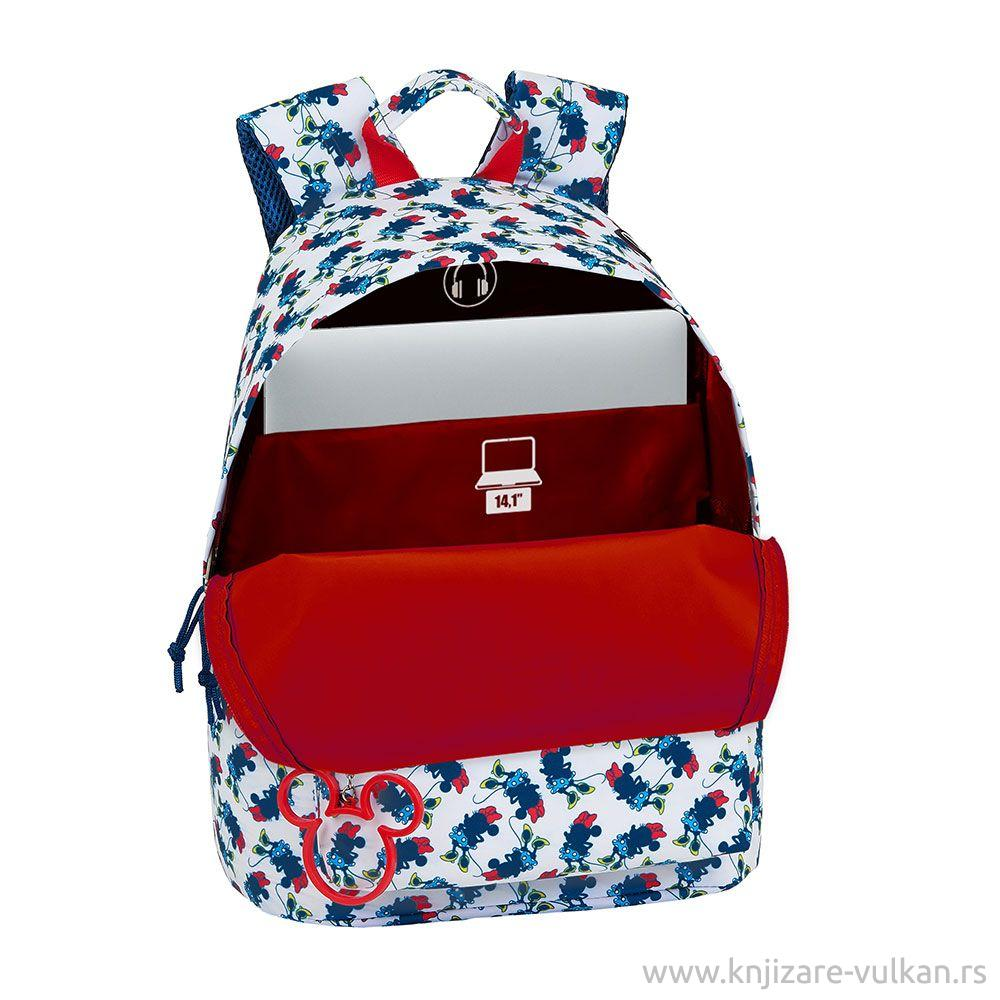 Ranac za Laptop BACKPACK LAPTOP 14,1 MINNIE MOUSE STYLE