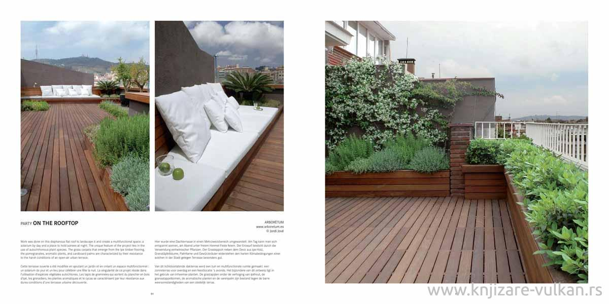 TERRACES, BALCONIES, ROOF GARDENS AND PATIOS