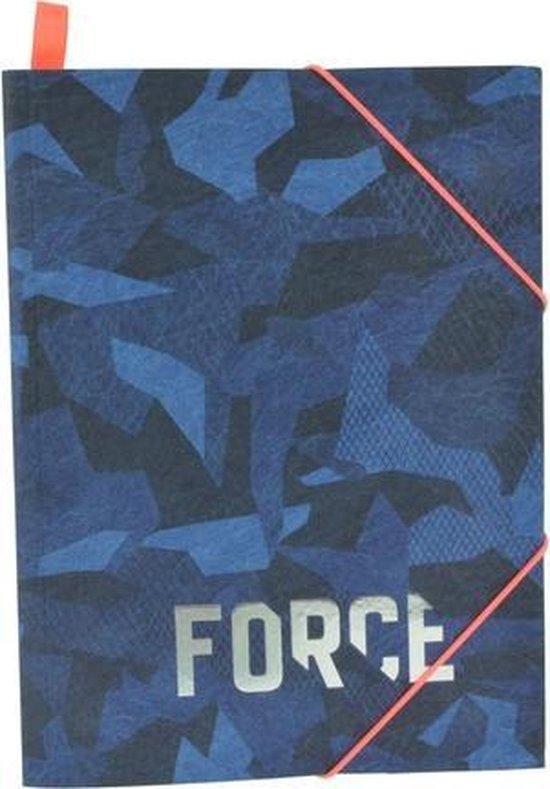 Fascikla blue camouflage