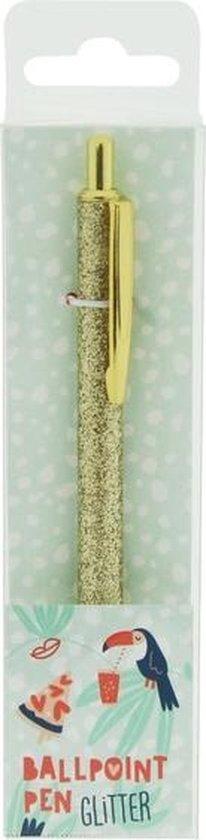 Hemijska olovka GOLD GLITTER