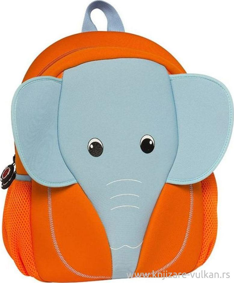 BACKPACK ORANGE ELEPHANT