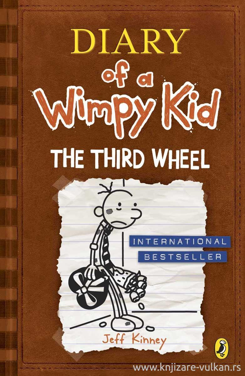 THE THIRD WHEEL Diary of a Wimpy Kid book 7