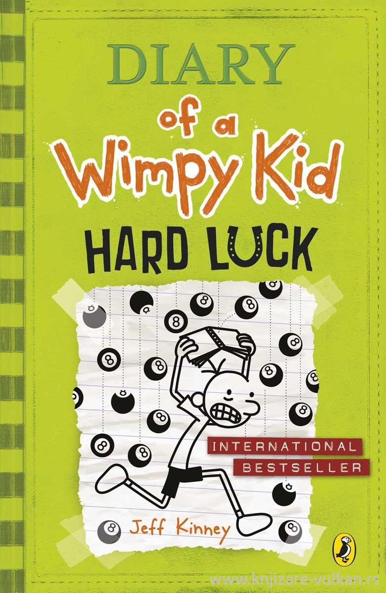 HARD LUCK Diary of a Wimpy Kid book 8