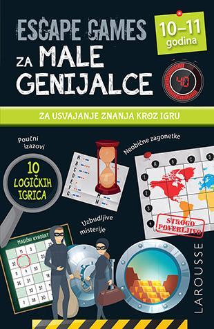 ESCAPE GAMES ZA MALE GENIJALCE: 10 - 11 GODINA