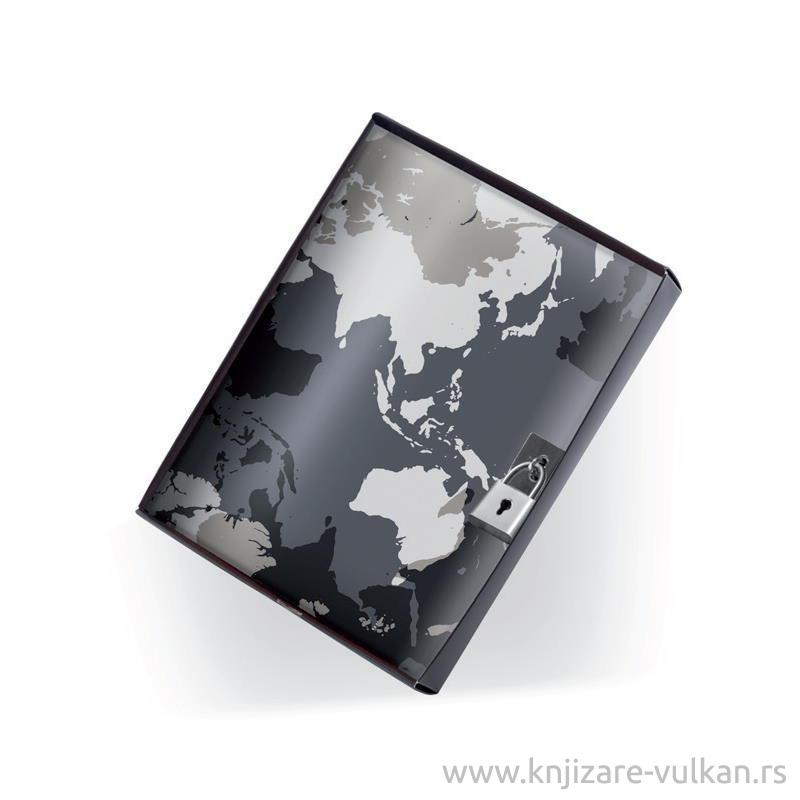 Notes PRIVATE DIARY WORLD MAP
