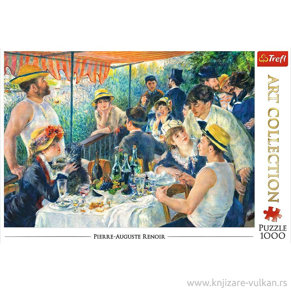 Puzzle TREFL Luncheon of the Boating Party, Renoir 1000