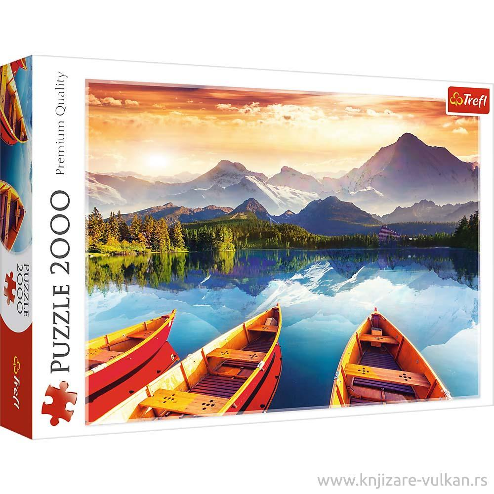 Puzzle TREFL Crystal lake 2000
