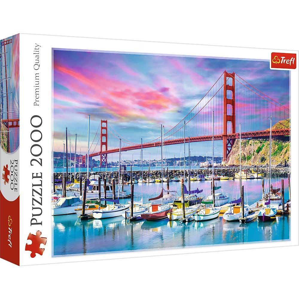 Puzzle TREFL Golden Gate, San Francisco 2000