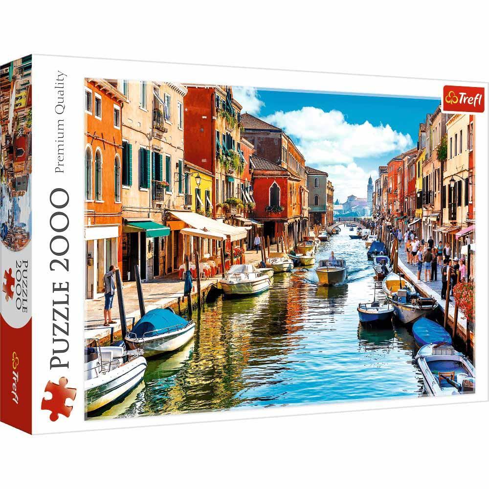 Puzzle TREFL Murano Island, Venice 2000