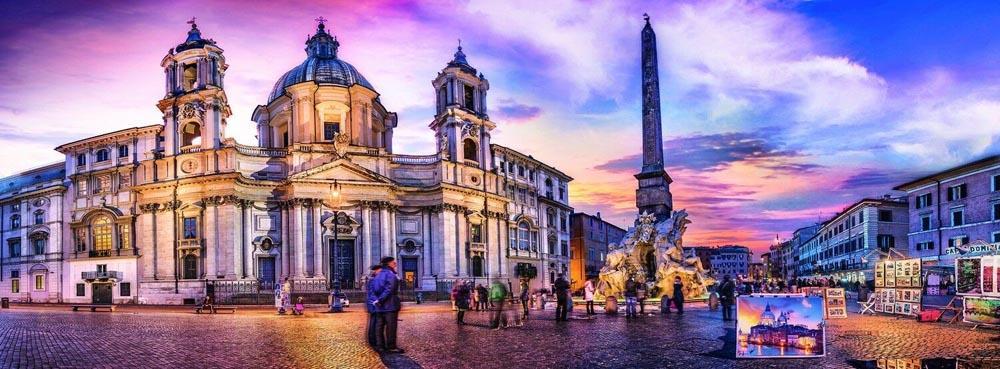 Puzzle TREFL Piazza Navona, Rome 500