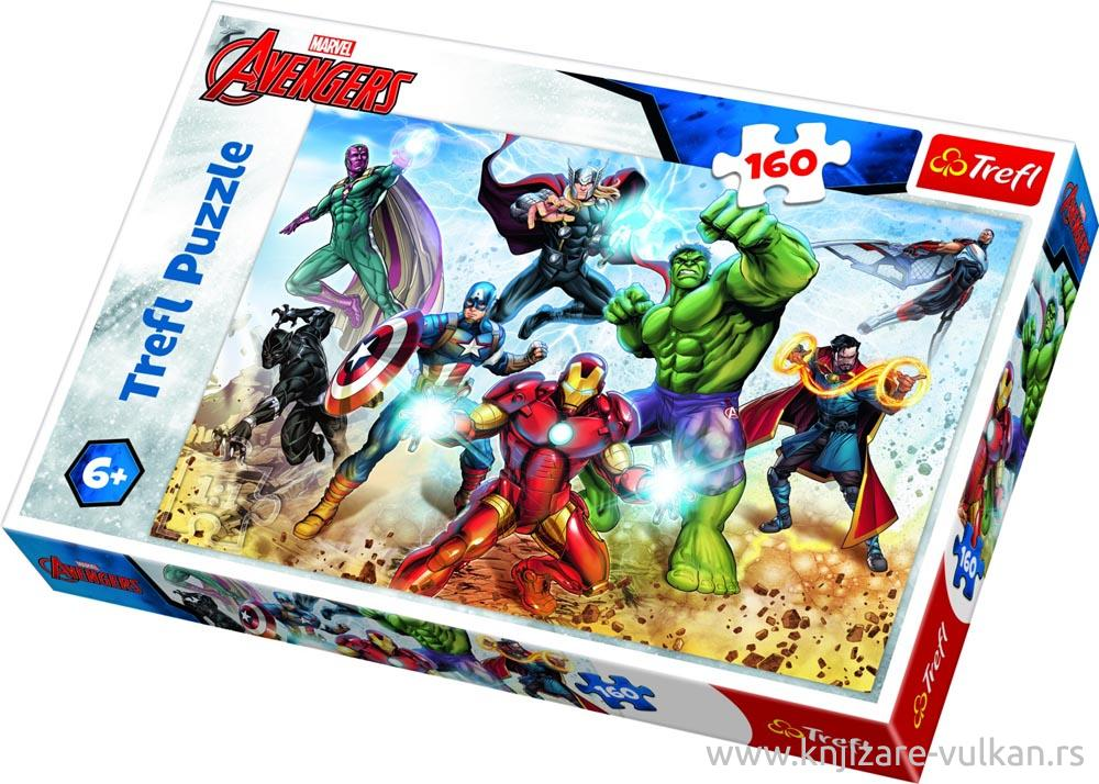 Puzzle THE AVENGERS Ready to save the world 160