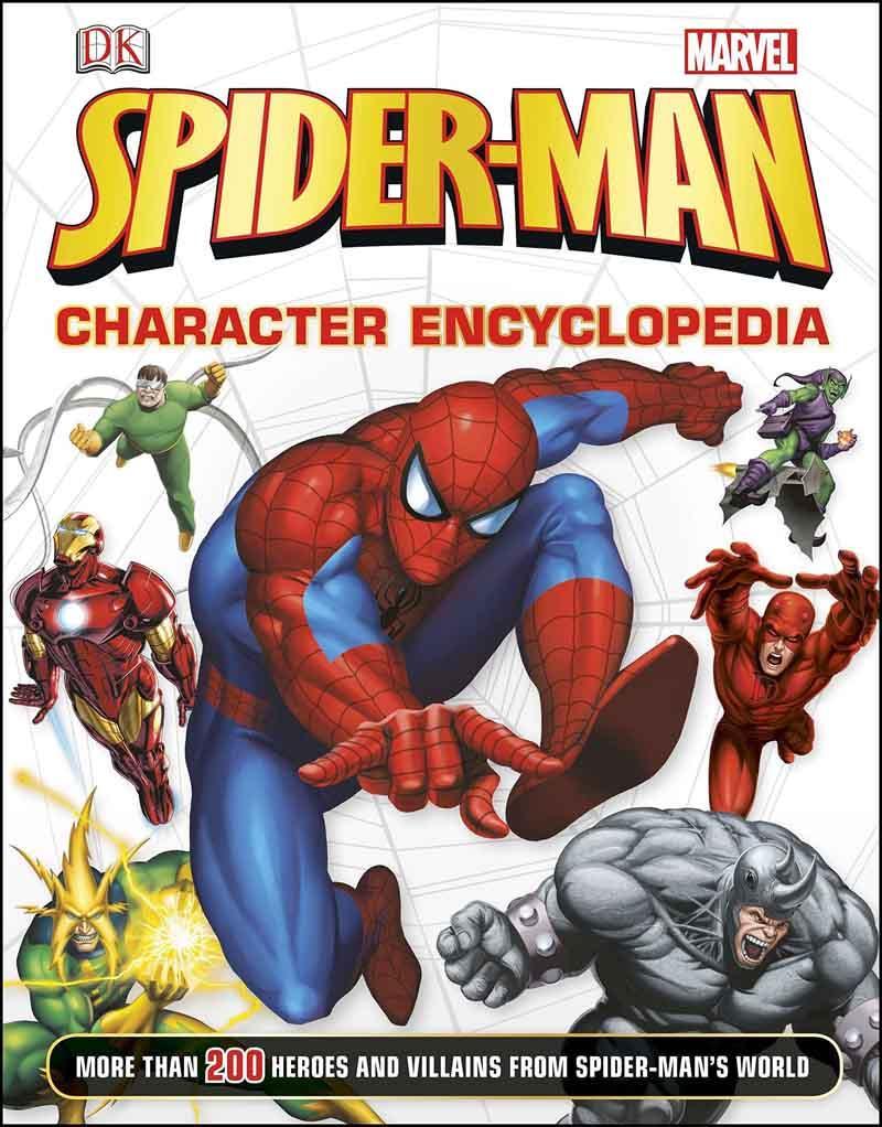SPIDER MAN CHARACTER ENCYCLOPEDIA