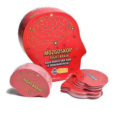 MOZGOSKOP Koja hemisfera vam je dominantnija - Crvena