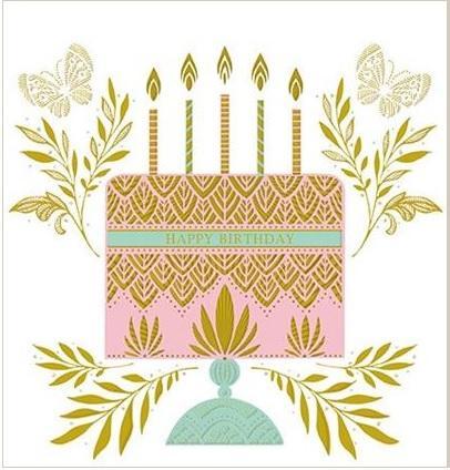 Čestitka BIRTHDAY CAKE