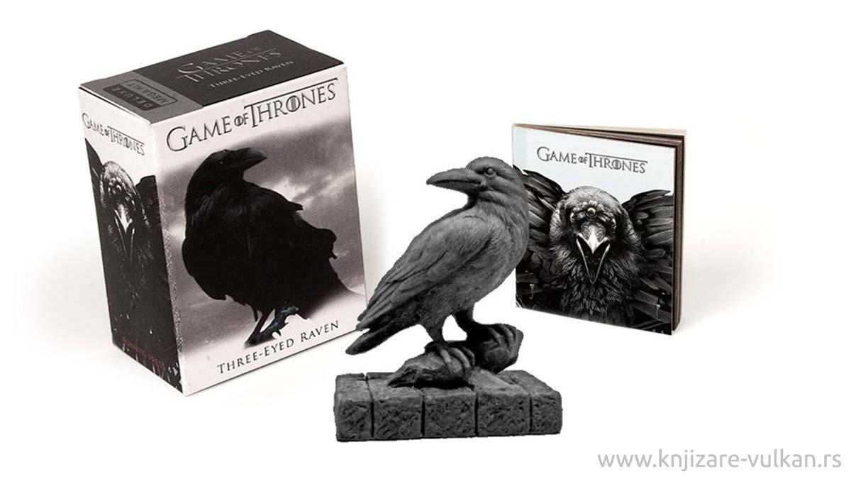 GAME OF THRONES THREE EYED RAVEN