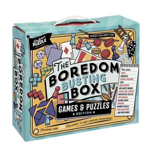 PROFESSOR PUZZLE    Društvena igra INDOOR BOREDOM BOX