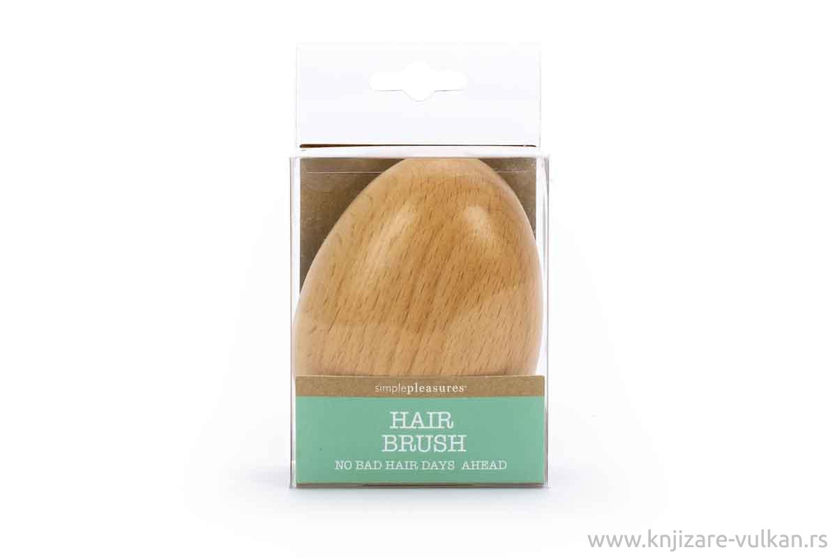 Drvena četka za kosu