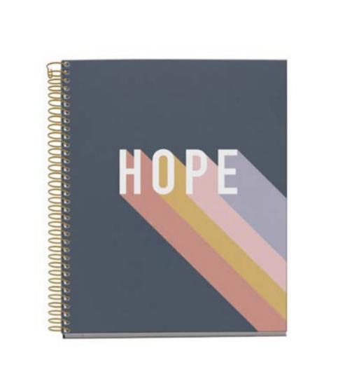 Notes A5 sa spiralom HOPE WISH MR (kvadratići)
