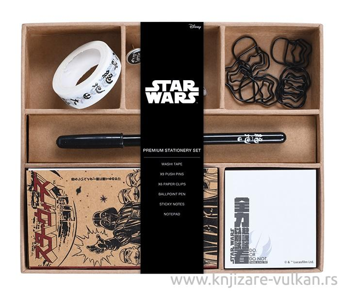 Školski set Premium STAR WARS Japanese